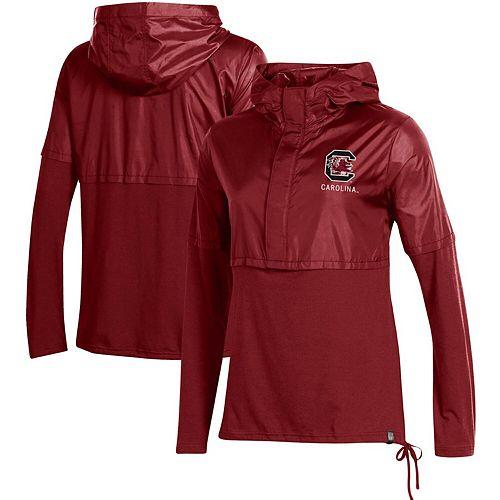 Women's Under Armour Garnet South Carolina Gamecocks Sportstyle Hybrid Jacket
