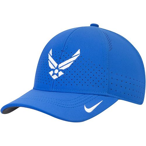 Youth Nike Royal Air Force Falcons Sideline Coaches Legacy 91 Performance Adjustable Hat