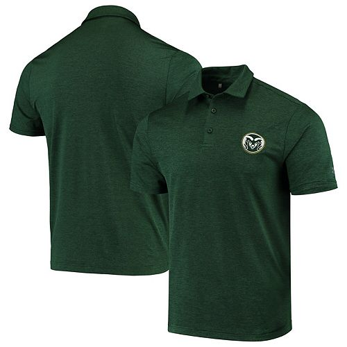 Men's Under Armour Green Colorado State Rams Playoff Polo