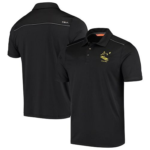 Pittsburgh Steelers CBUK by Cutter & Buck Throwback Chance Polo - Black