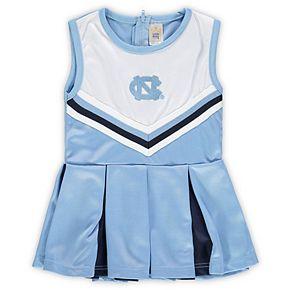 Girls Preschool & Toddler Carolina Blue North Carolina Tar Heels One-Piece Cheer Dress