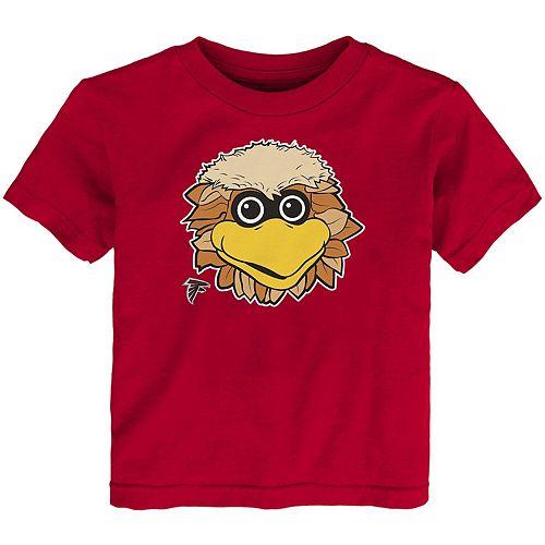 Toddler Red Atlanta Falcons Headshot T-Shirt
