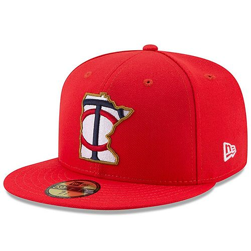 Youth New Era Red Minnesota Twins 2017 Players Weekend 59FIFTY Fitted Hat