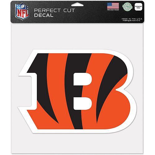 "WinCraft Cincinnati Bengals 12"" x 12"" Perfect Cut Decal"