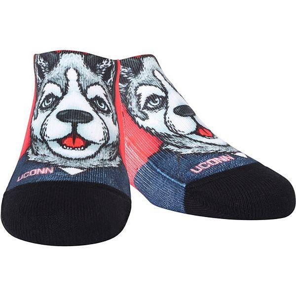 Youth UConn Huskies Mascot Low Socks