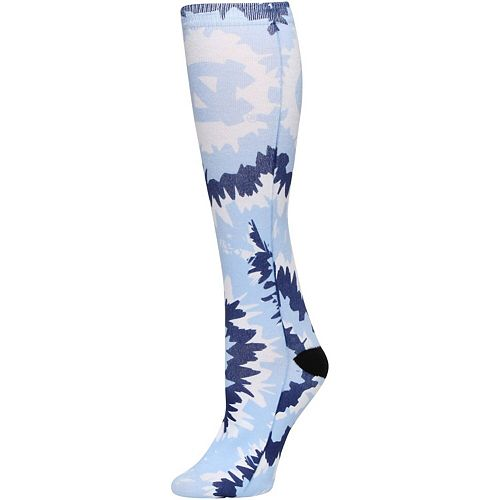 Women's North Carolina Tar Heels Tie Dye Knee High Socks