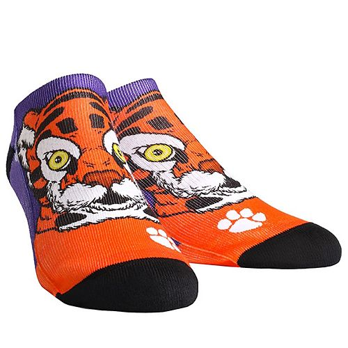Women's Clemson Tigers Mascot Low Ankle Socks