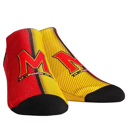 Youth Maryland Terrapins Campus Stripe Ankle Socks