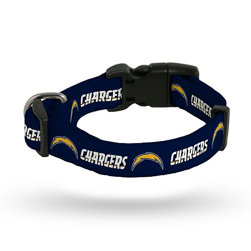 Sparo Los Angeles Chargers Rugged Pet Collar
