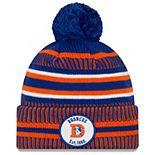 Youth New Era Orange Denver Broncos 2019 NFL Sideline Home Reverse Sport Knit Hat