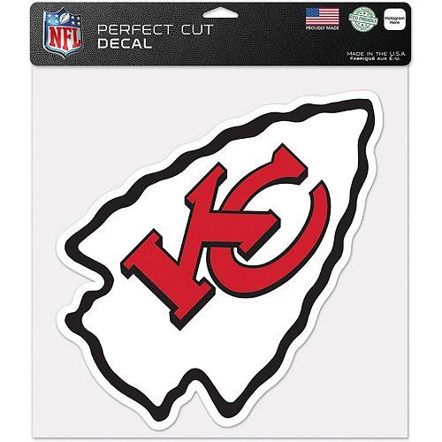 "WinCraft Kansas City Chiefs 12"" x 12"" Perfect Cut Decal"