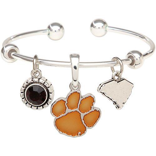 Clemson Tigers Women's Home Sweet School Bracelet