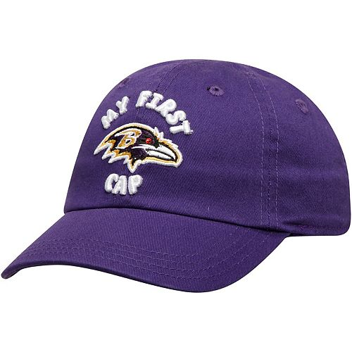 Infant Purple Baltimore Ravens My First II Flex Hat