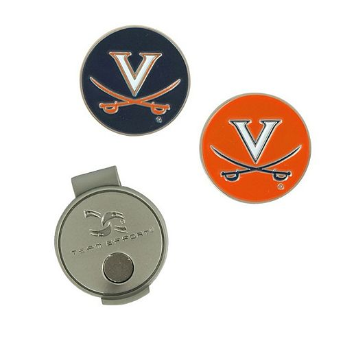 Virginia Cavaliers Hat Clip & Ball Markers Set