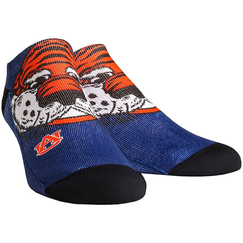 Youth Auburn Tigers Mascot Ankle Socks. Boy's. Multicolor