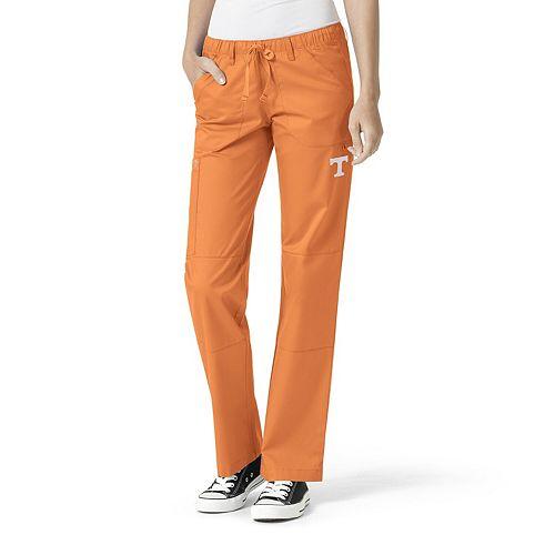 Women's Tennessee Orange Tennessee Volunteers Straight Leg Scrub Cargo Scrub Pants