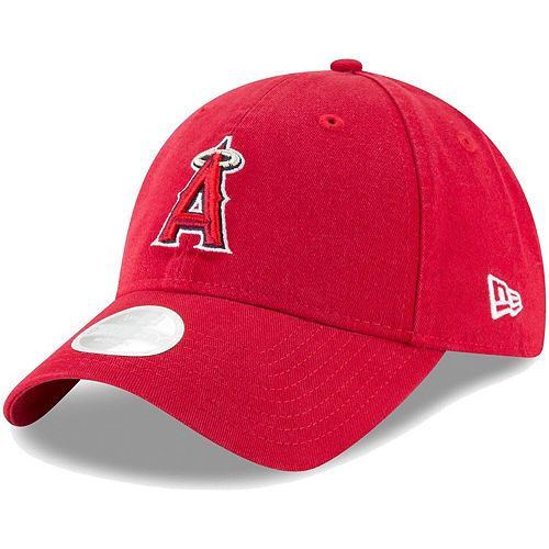 Women's New Era Red Los Angeles Angels Core Classic Twill Team Color 9TWENTY Adjustable Hat