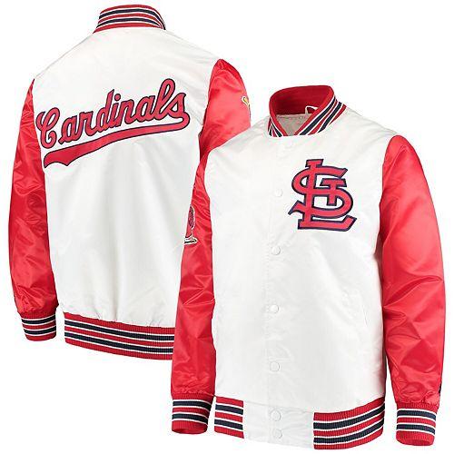 Men's Starter White St. Louis Cardinals The Legend Jacket