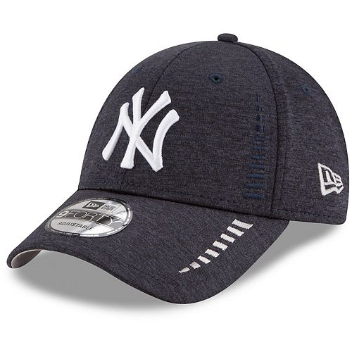 Men's New Era Navy New York Yankees Speed Shadow Tech 9FORTY Adjustable Hat