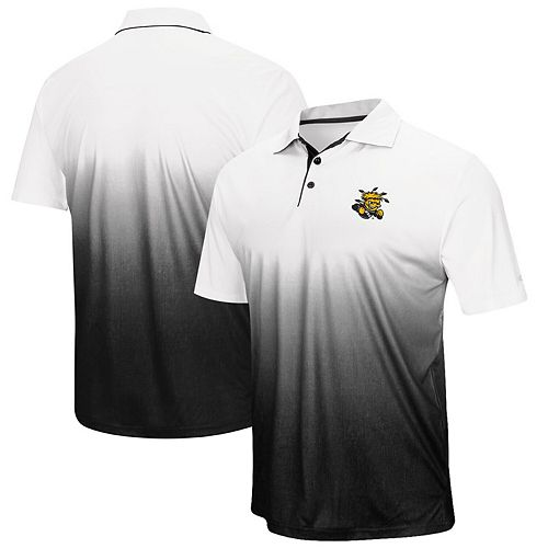 Men's Colosseum Gray Wichita State Shockers Magic Team Logo Polo