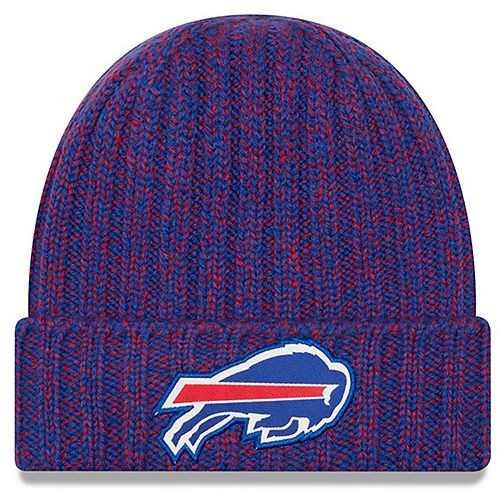 Women's New Era Royal Buffalo Bills 2018 NFL Sideline Cold Weather Official Knit Hat