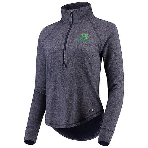 Under Armour Damen Athlete Recovery Knit 1//2 Zip Oberteil