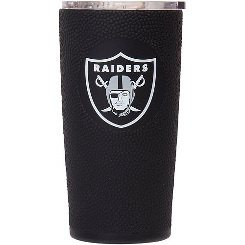 Oakland Raiders 20oz. Stainless Steel with 3D Silicone Tumbler