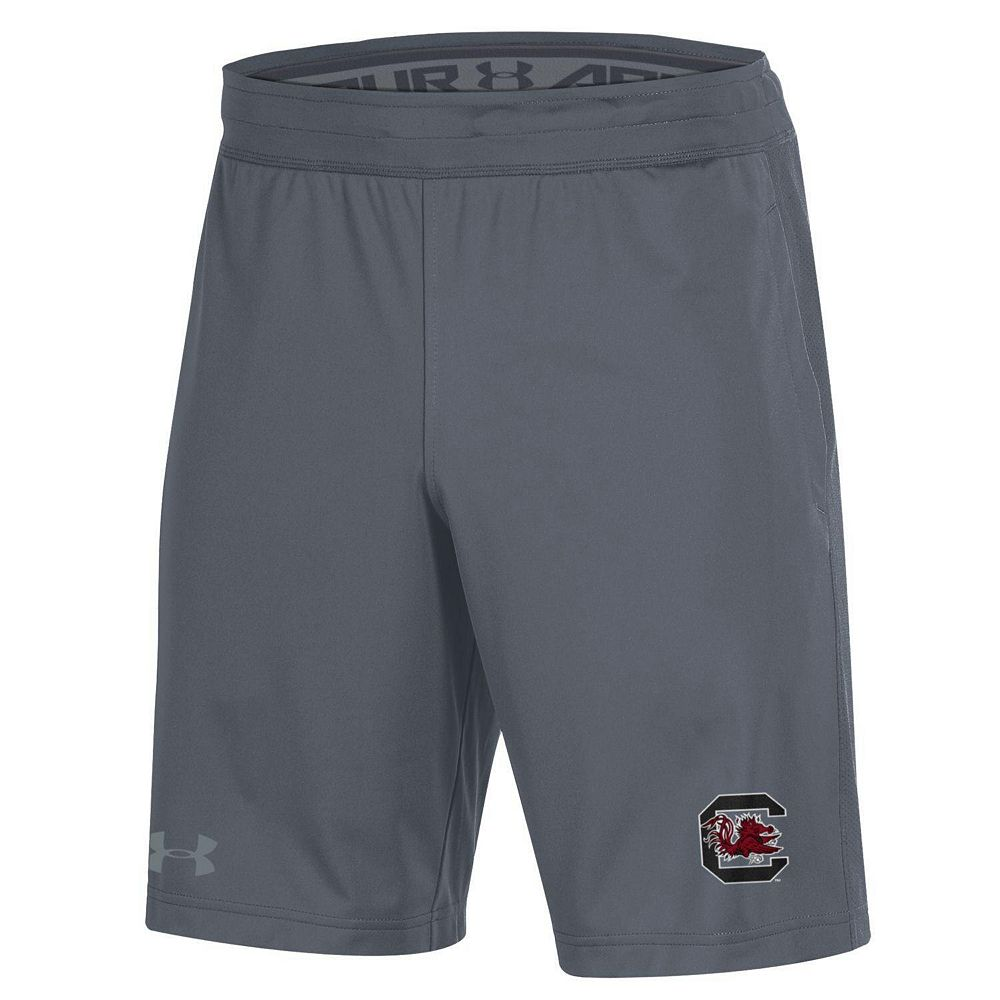 Men's Under Armour Gray South Carolina Gamecocks MK-1 Shorts