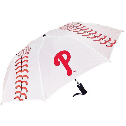 Philadelphia Phillies Baseball Folding Umbrella