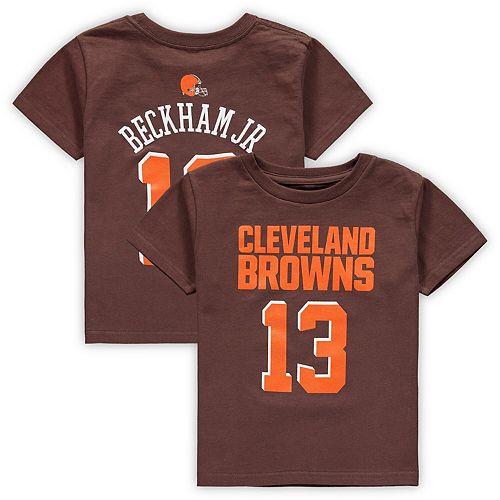 sports shoes d063d 571f5 Odell Beckham Jr. Cleveland Browns Youth Mainliner Team ...