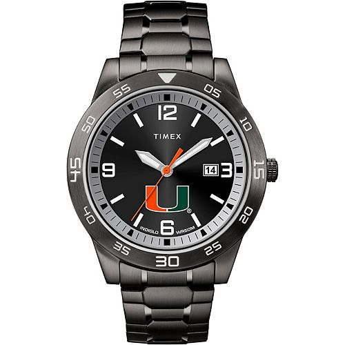 Men's Timex Miami Hurricanes Acclaim Watch