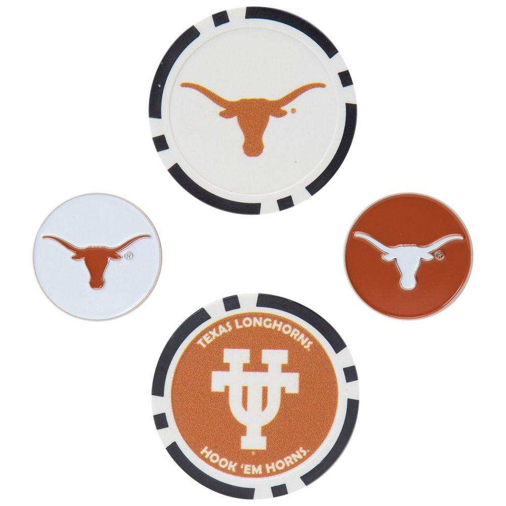 Texas Longhorns Ball Marker Set