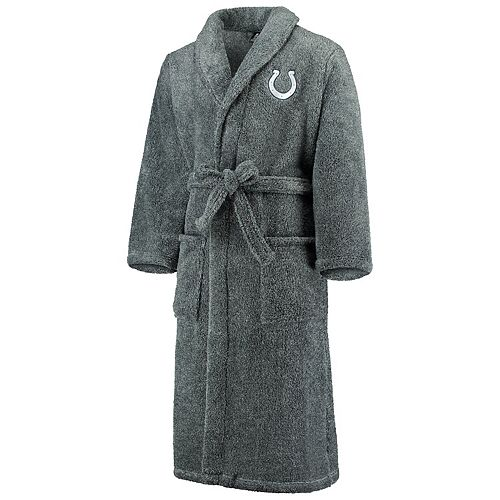 Men's Concepts Sport Charcoal Indianapolis Colts Trifecta Robe