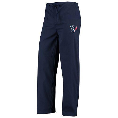 Men's Concepts Sport Navy Houston Texans Scrub Pants