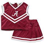 Girls Youth Crimson Alabama Crimson Tide Two-Piece Cheer Set