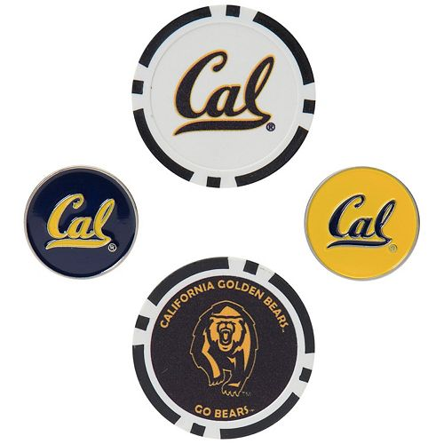 Cal Bears Ball Marker Set
