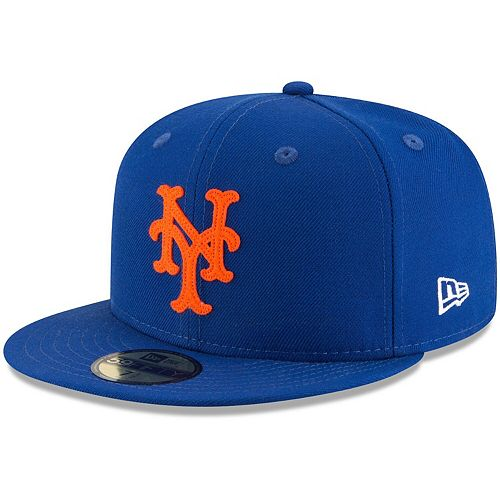 Men's New Era Royal New York Mets Cooperstown Inaugural Season 59FIFTY Fitted Hat