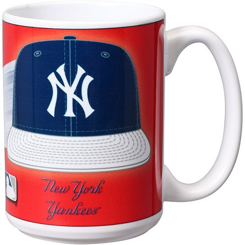 New York Yankees 15oz. Team 3D Graphic Mug