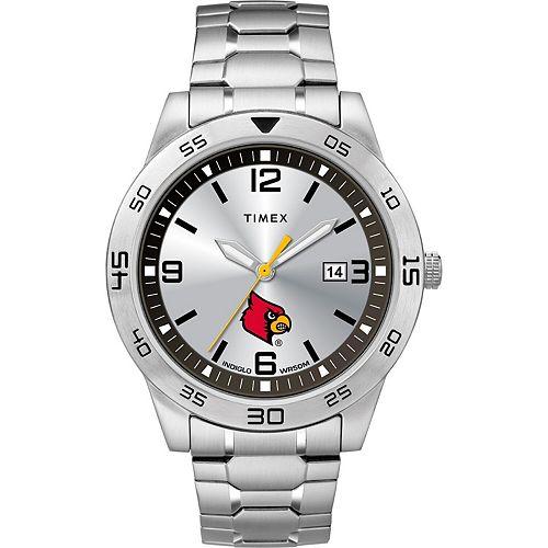 Men's Timex Louisville Cardinals Citation Watch