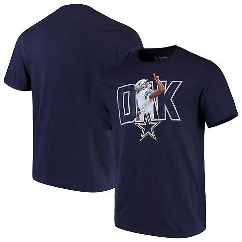 Men's Dak Prescott Navy Dallas Cowboys Fervor Player T-Shirt