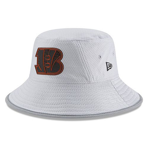 Youth New Era Gray Cincinnati Bengals 2018 Training Camp Official Bucket Hat