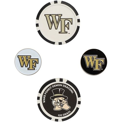 Wake Forest Demon Deacons Ball Marker Set