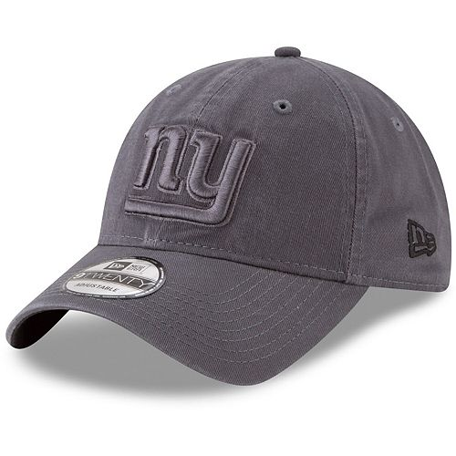 Men's New Era Graphite New York Giants Core Classic Tonal 9TWENTY Adjustable Hat