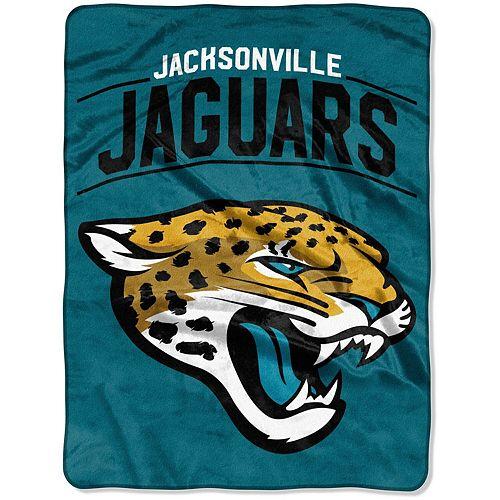 "The Northwest Company Jacksonville Jaguars Strong Side 60"" x 80"" Raschel Throw Blanket"