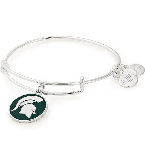 Women's Alex & Ani Michigan State Spartans Enamel Stack Bracelet