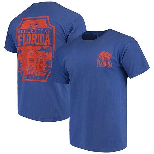 Men's Royal Florida Gators Comfort Colors Campus Icon T-Shirt