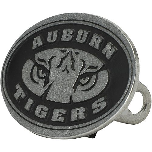 Auburn Tigers Standard Pewter Hitch Cover
