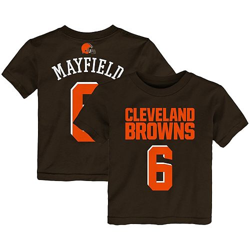 promo code 5c49c 4e4b5 Preschool Baker Mayfield Brown Cleveland Browns Mainliner ...