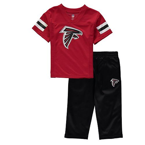 Toddler Red/Black Atlanta Falcons Training Camp Pants & T-Shirt Set