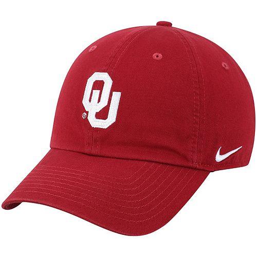 Men's Nike Crimson Oklahoma Sooners Heritage 86 Logo Performance Adjustable Hat